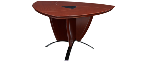 triangular conference table office commercial furniture durian