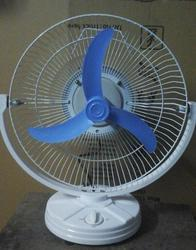 Customization White, Blue Table Fan Body Parts, Size: 12 Inches