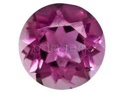 Pink Tourmaline Round Cut Gemstone