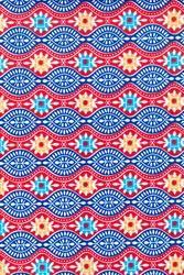 Aztec Prints Cotton Fabric