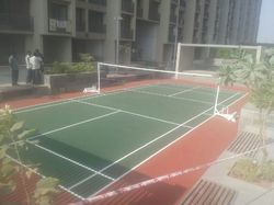 Outdoor Sports Rubber Flooring