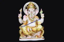 Religious Ganesha Marble Statue