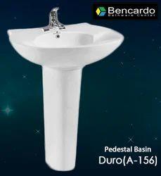 Pedestal Wash Basin-  Duro- A-156