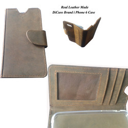 Manufacturer of Real Leather Made Mobile Covers, Packaging Type: Gift Box, Pure Leather: Yes