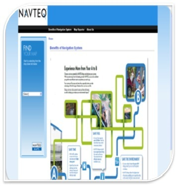 NAVTEQ Map Download Server, Computer And Mobile Softwares