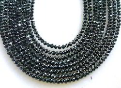 06a2a418ea4 Black Diamond - Amazing 2 Strands Black Diamond 45 cts Beads Necklace  Manufacturer from Jaipur