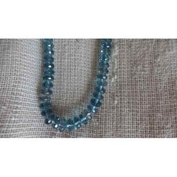London Blue Topaz Cut Beads