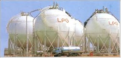 Liquefied Petroleum Gas Storage Tank