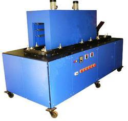 Semi-Automatic Three Phase Rotary Shrink Tunnel Machine