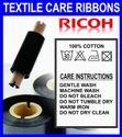 Ricoh Textile Wash Care Resin Ribbons