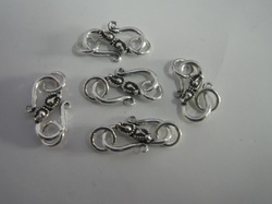 Sterling Silver S Hook Clasp
