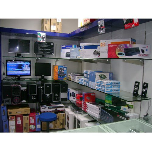 Electronic Product Display Racks Counter For S Manufacturer From Mumbai