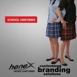Henex Multicolor Uniform Skirts