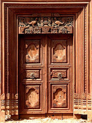 Teak Wood Doors in Coimbatore, Tamil Nadu | Suppliers, Dealers ...