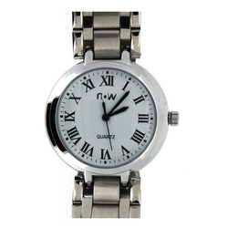 Roman Letters White Dial Watch