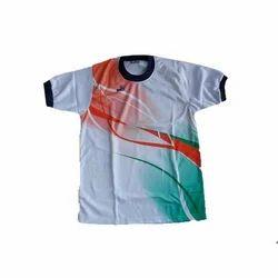 Mens Basic Round Neck T Shirt