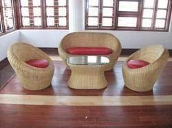 Designer Cane Sofa Set