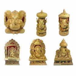 Wooden God Statues