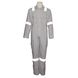Overalls Grey Reflective Boiler Suit, For Industrial, Size: Free Size