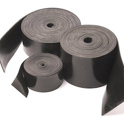 Black Natural Rubber Strip