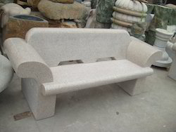 Granite Bench With Round Handle