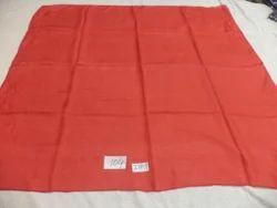 Pure Silk Solid Color Square Scarves