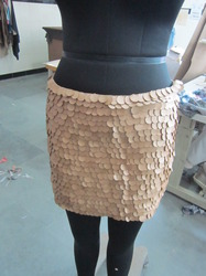 Leather Sequin Skirts