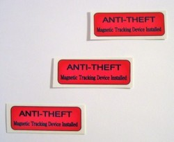 Anti Theft Security Labels