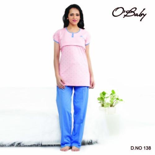 33fa65a2c Ladies Feeding Night Suits - Ladies Feeding Night Suit Exporter from ...