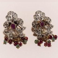 Victorian CZ Earring