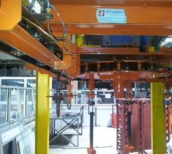 Warehouse Storage Overhead Conveyor