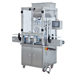 Automatic Paste And Liquid Filling Machine