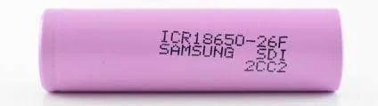ICR 18650 3.7V-2600 MAH LiOn