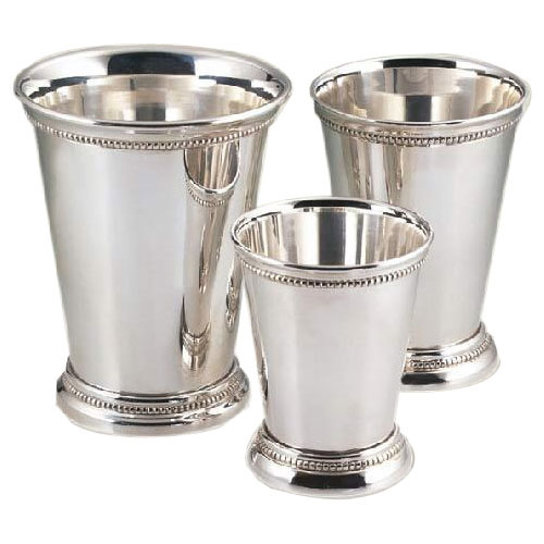 Silver Plated Mint Julep Cup White Daisy Manufacturer In