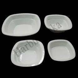 Acrylic Square Bowl