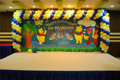 Birthday Stages Stage Flower Decoration Services Kk Flower