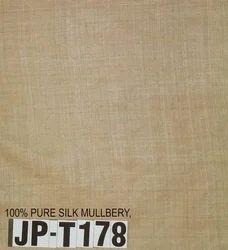Pure Natural Matka Silk Fabric