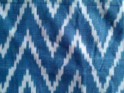 Handloom Cotton Ikat Fabric