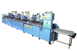 Three Color Screen Machine For Round Bottle