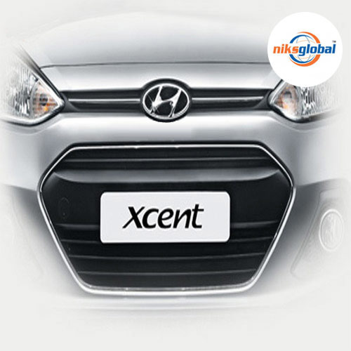 Hyundai Xcent Front Chrome Grill Mars Automotives P Ltd New
