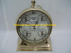 Classic Golden Antique Clock