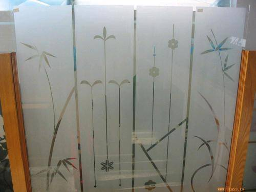 Etching Glass Acid Etched Glass Wholesale Trader From