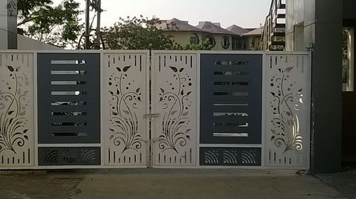 Designer Main Gate View Specifications Details Of Stainless