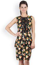 Y&I Women's Peplum Dress