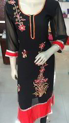 Fancy Georgette Kurti