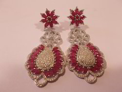 Flower Drop Earring Set