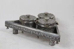 Silver Plated Supari Daan