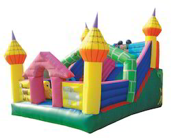 Castle Slide Bouncy