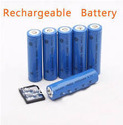 Blue Rechargeable Battery, Capacity: 2200mah