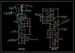 Mechanical 2D Drafting Services